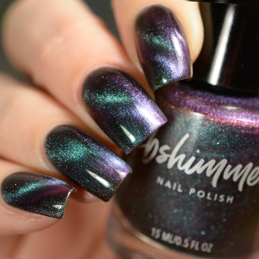 SPACED OUT MULTICHROME MAGNETIC NAIL POLISH | Rainbow Connection