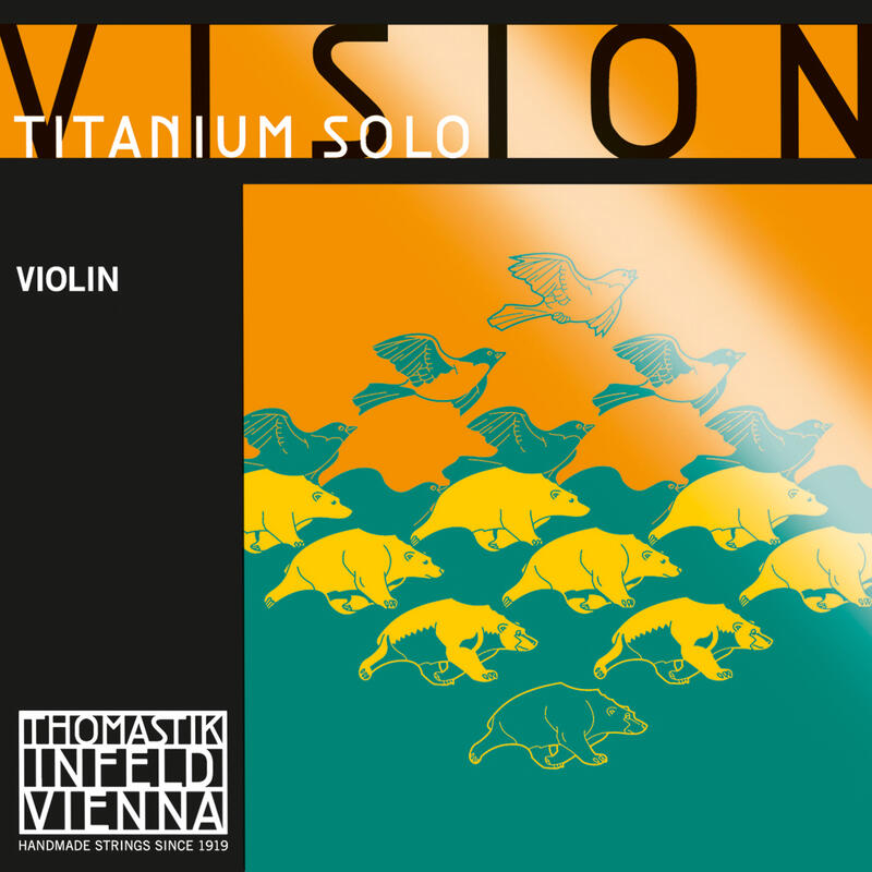 T-I Vision Ti Solo Violin String A 4/4 Medium