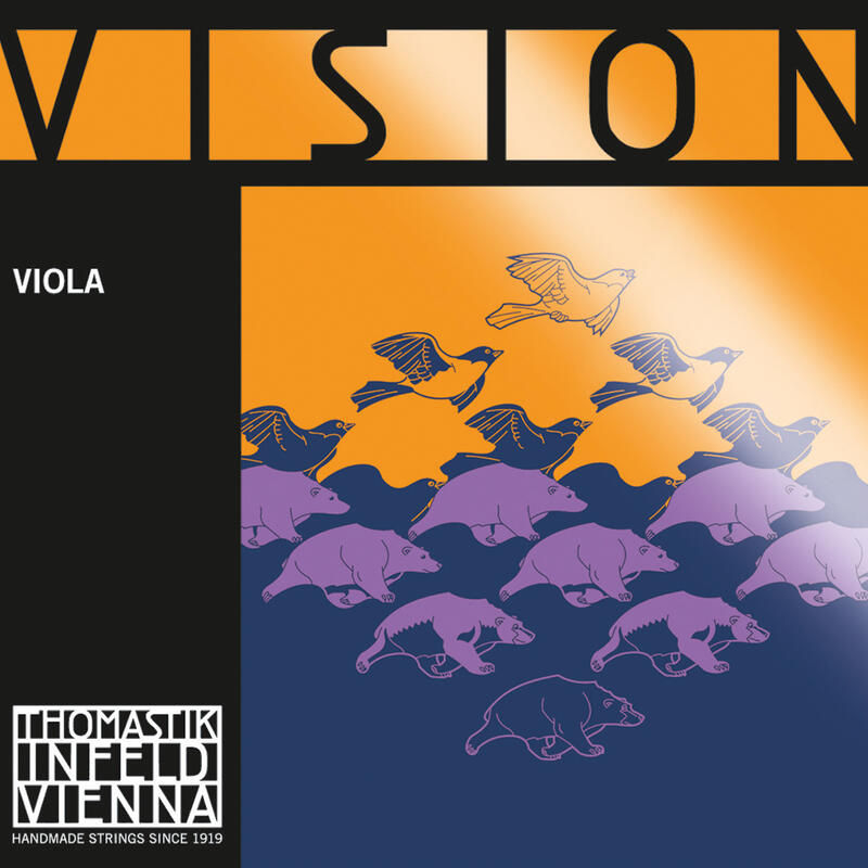 T-I Vision Viola String Set Medium