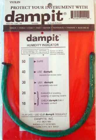 Dampit Humidifier for Vn DP1