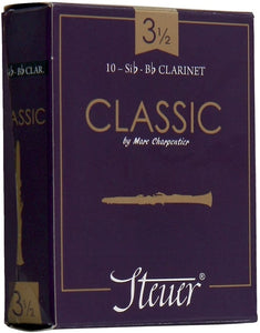 Steuer Bb Clarinet Reed CLASSIC 3.5 Box of 10