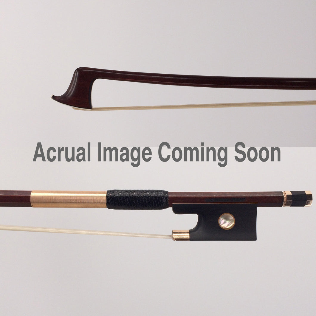 Dorfler Violin Bow #400 Round Gold Headplate
