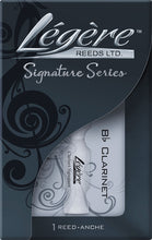 Load image into Gallery viewer, Legere Reed for Bb Clarinet Signature 3.5