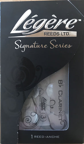 Legere Reed for Bb Clarinet Signature 3.0