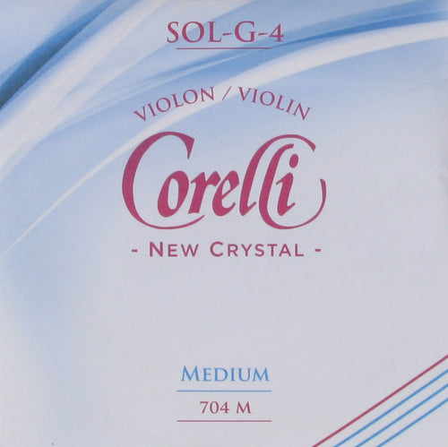 Corelli Violin String Crystal G String Medium