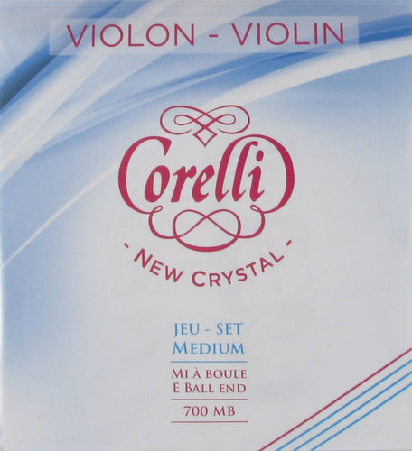 Corelli Violin String Crystal 700MB Set