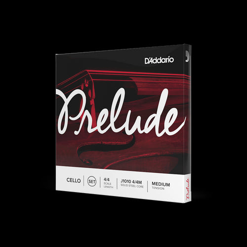 D'Addario Prelude Cello String Set 4/4 Medium