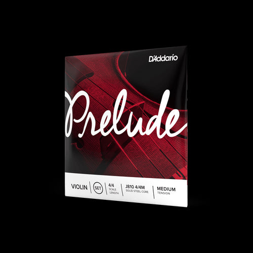 D'Addario Prelude Violin String Set 4/4 Medium