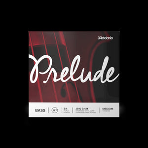 D'Addario Prelude  Double Bass String Set 3/4 Medium