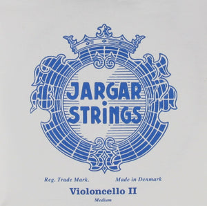 Jargar Cello String D Blue 4/4 Medium
