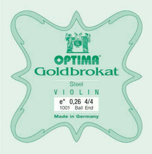 Optima Violin String Goldbrokat E BE