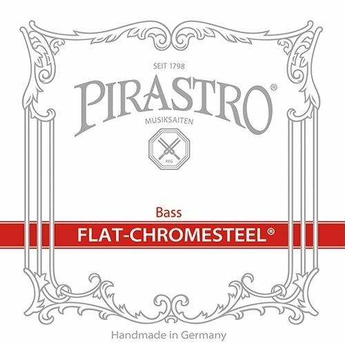 Pirastro DB FlatChromesteel Set