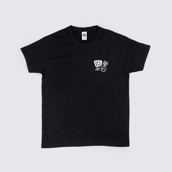 BLACK T-SHIRT GET RAD - WAVEPATROL