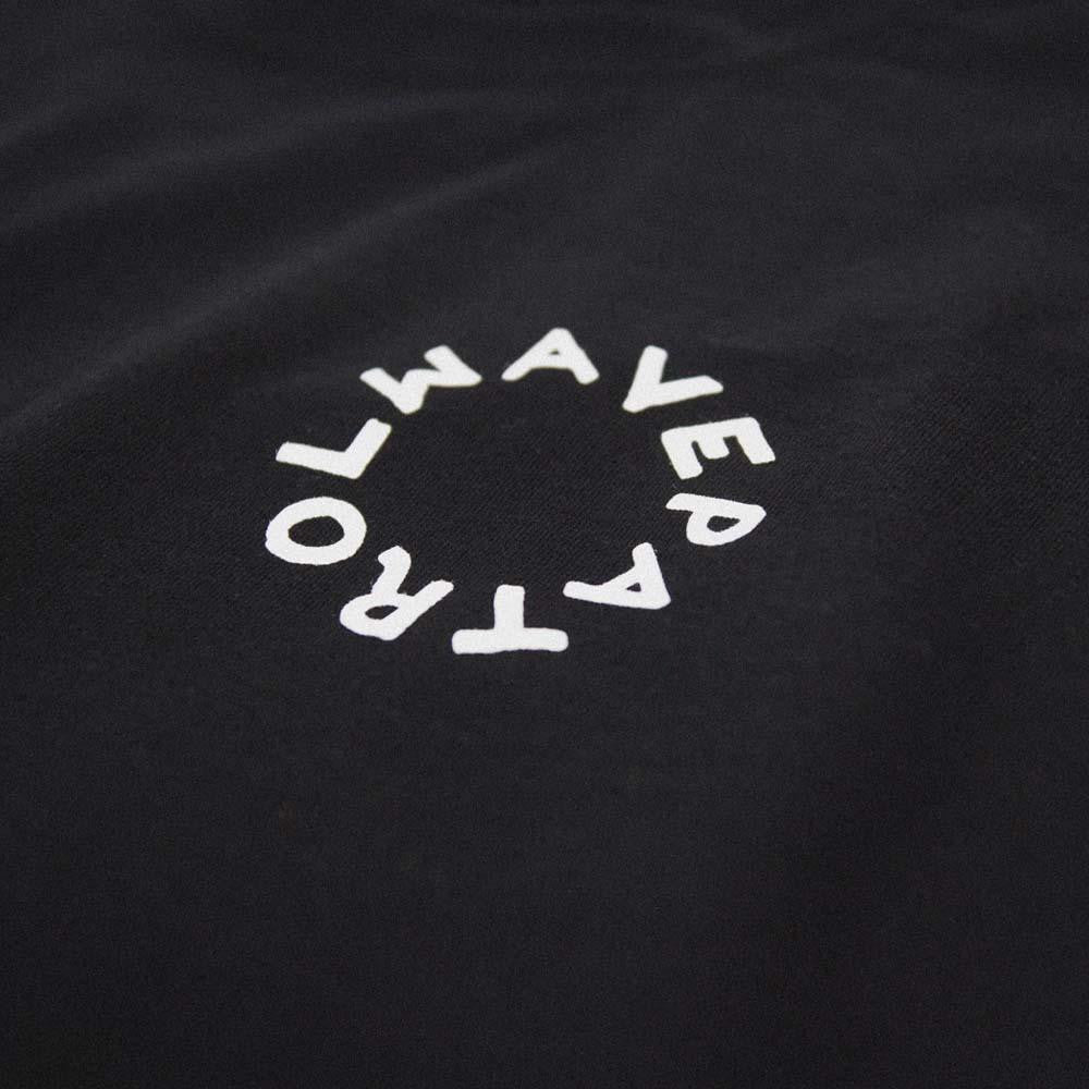 BLACK T-SHIRT CIRCLE - WAVEPATROL