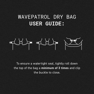 WATERPROOF DRY BAG 15L - WAVEPATROL