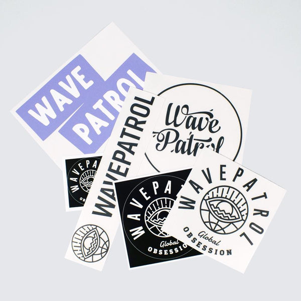 WAVEPATROL CREW STICKER PACK - WAVEPATROL