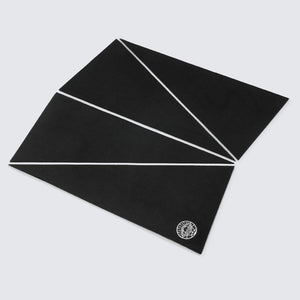 CORE SURF FRONT PAD NOIR RECYCLED - WAVEPATROL