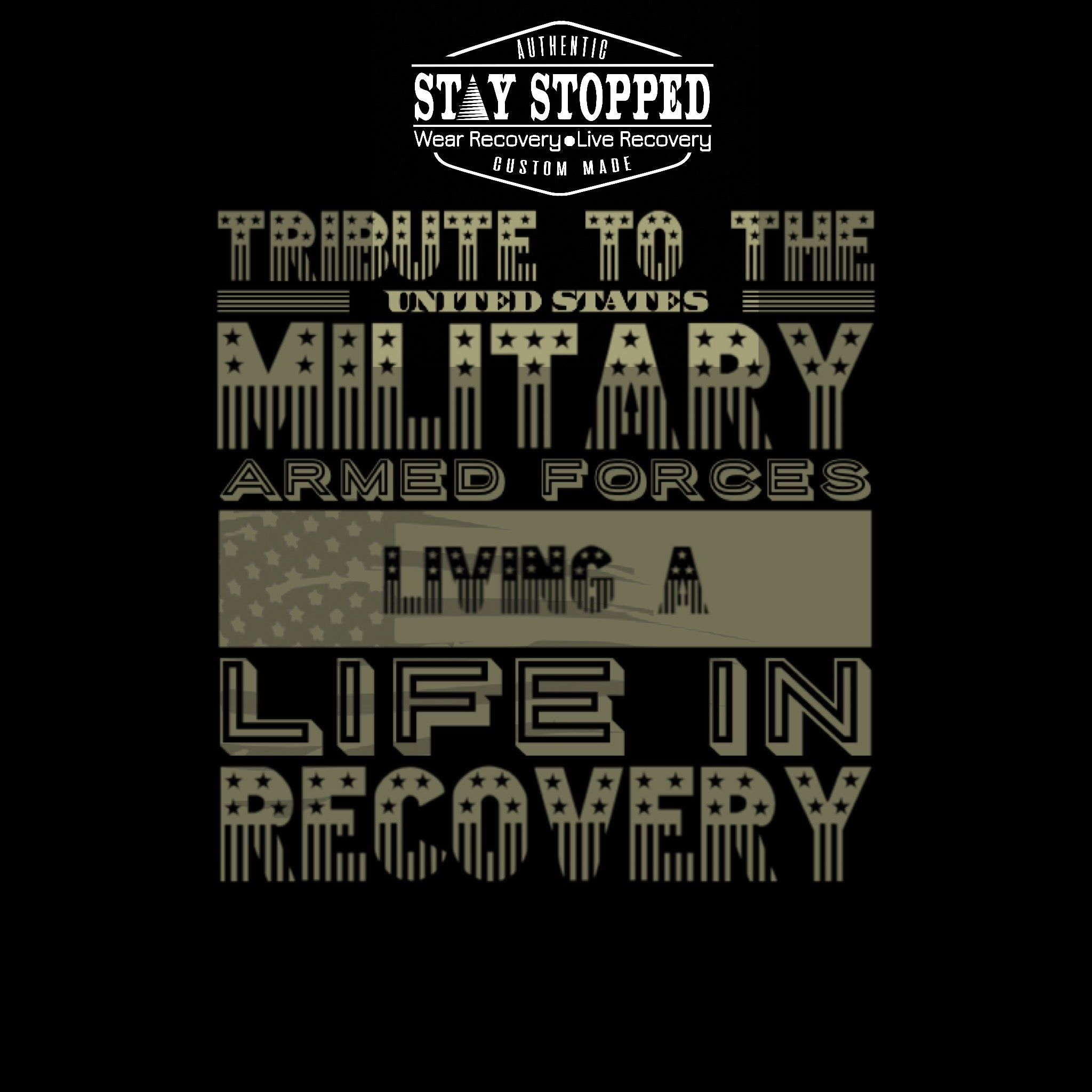 U.S. Navy Veterans in Recovery Tribute Heavyweight Tee