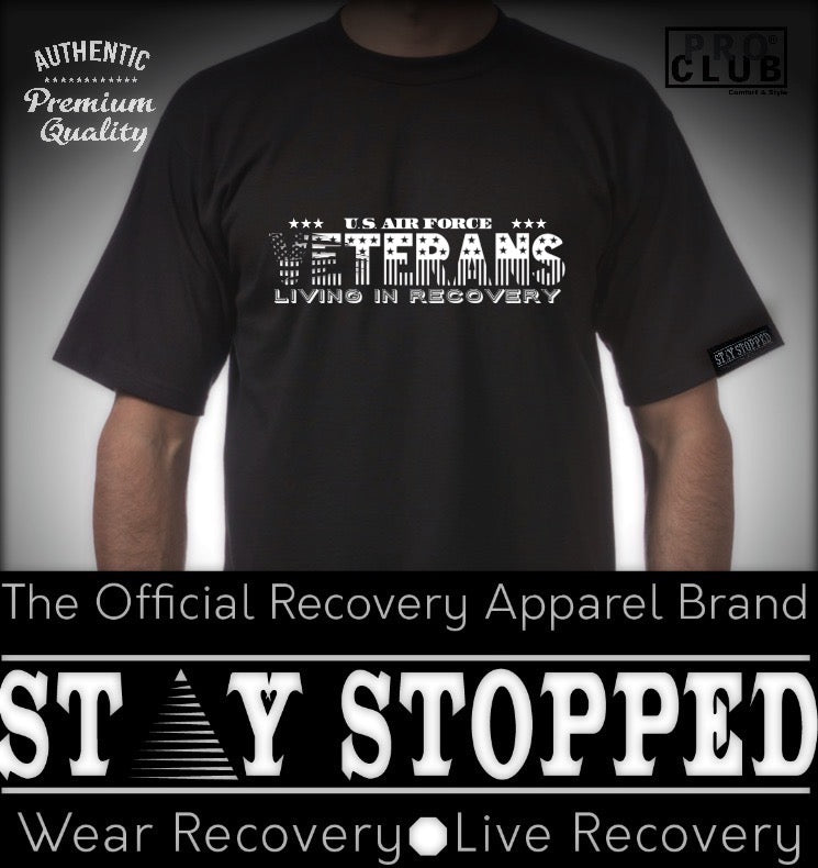 U.S. Air Force Veterans in Recovery Tribute Heavyweight Tee
