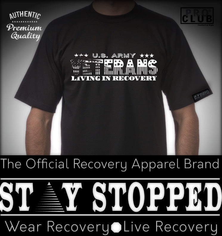 U.S. Army Veterans in Recovery  Tribute Heavyweight Tee