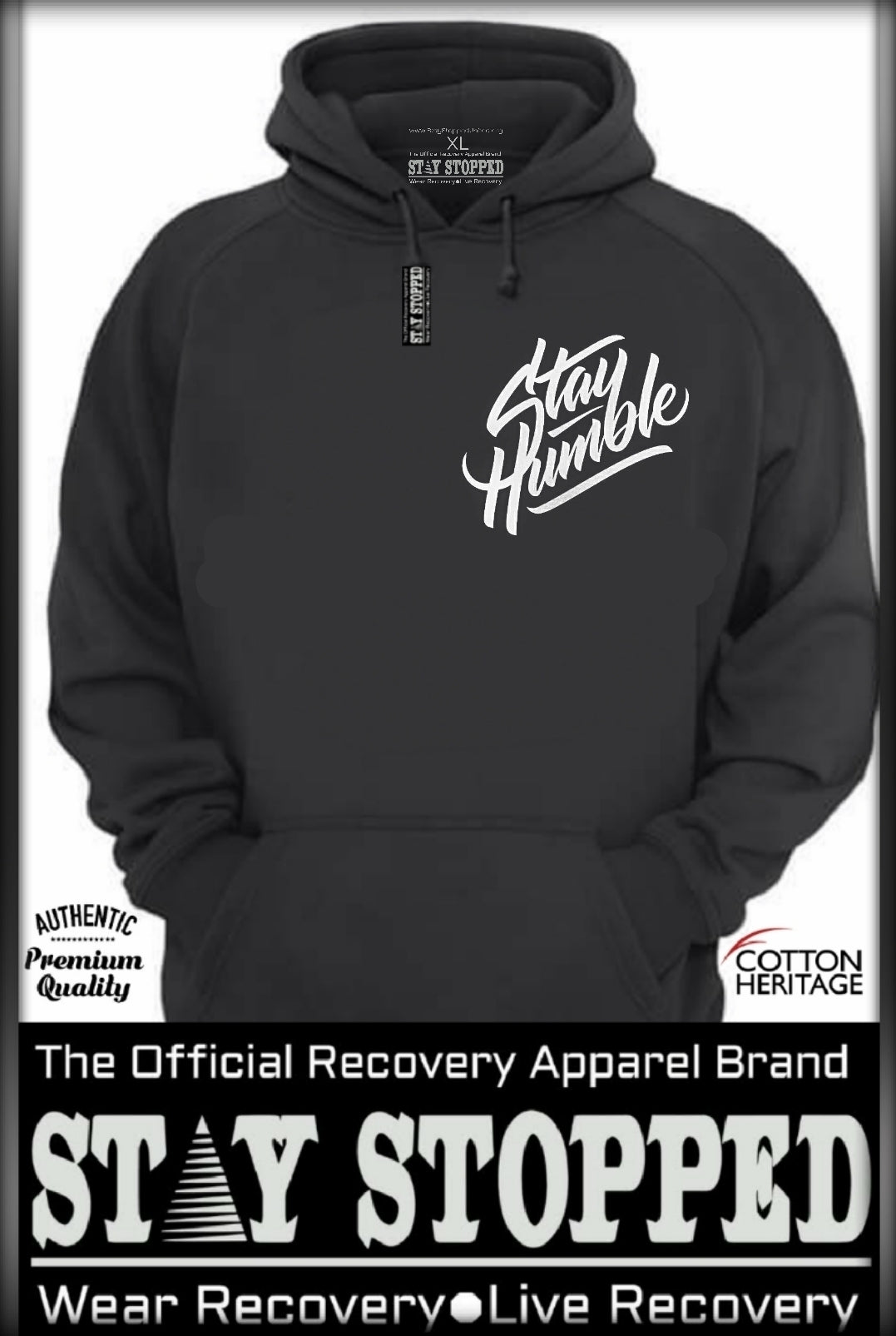 Stay Humble - Heavyweight Hoodie