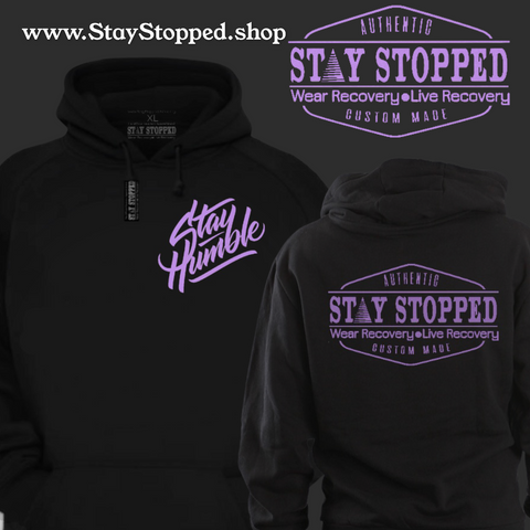 PullOver- Stay Humble- PurpleProgress