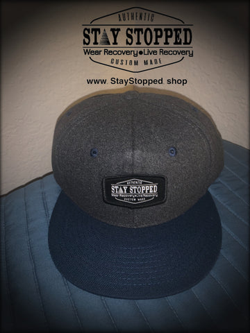 STAY STOPPED Official logo patch SnapBack Hat