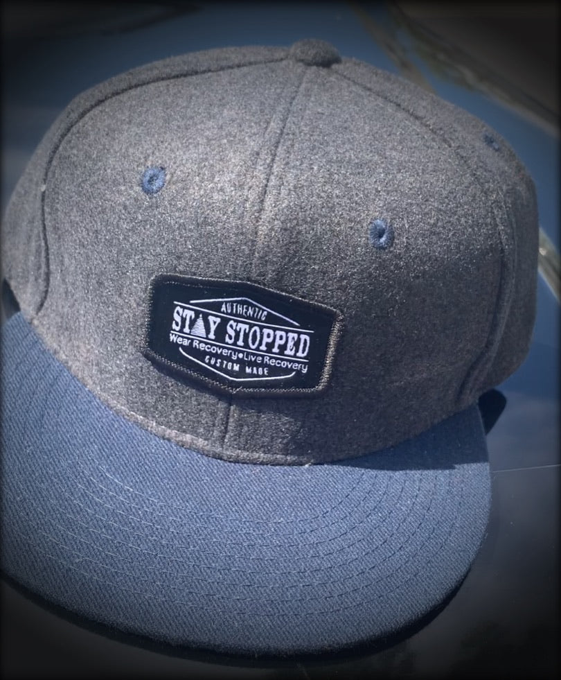 Stay Stopped Official Logo Patch Snapback