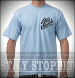 Spiritual Sky Blue Stay Humble Heavyweight T