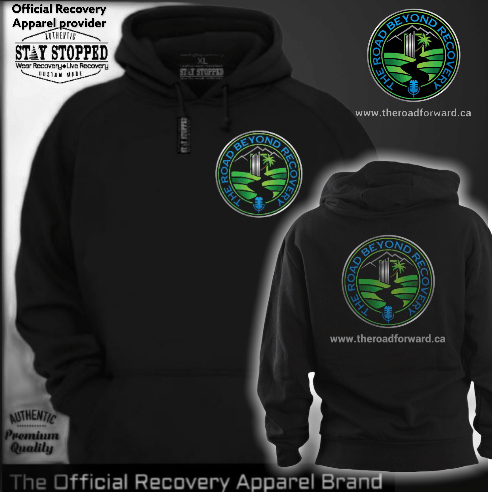 The Road Beyond Recovery-Official Pullover Hooded Sweatshirt