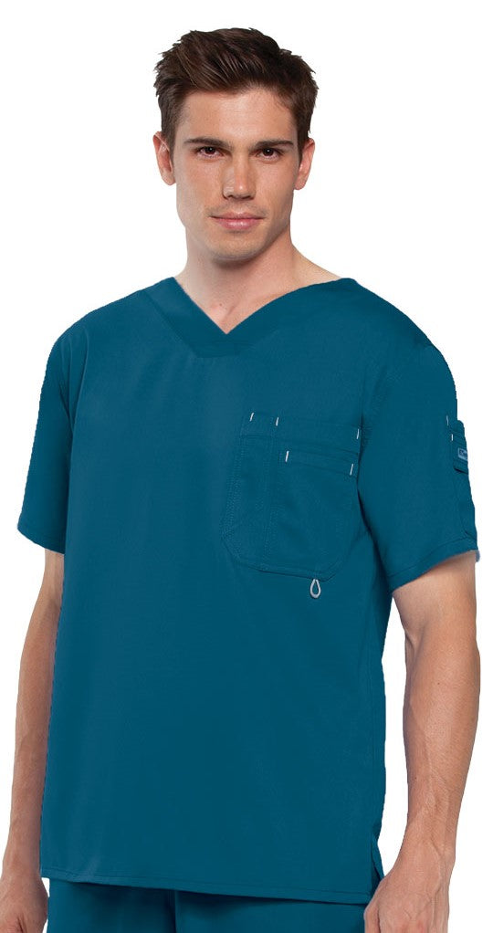 Grey's Anatomy™ Top Men's High V-Neck. Supper Soft Fabric. Classic Fabric.