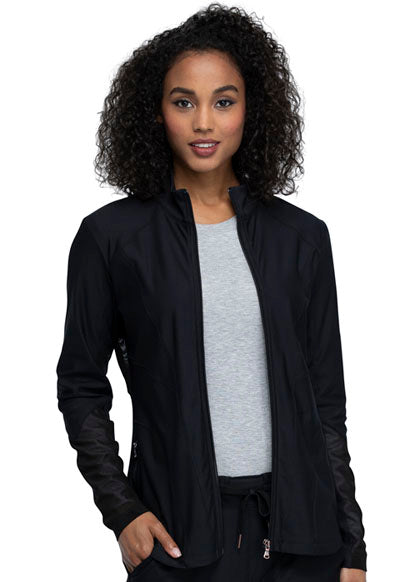 Cherokee Form Zip Front Jacket