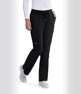 Grey's Anatomy™Pant 4 Pocket and 2 Cargo with Shaped leg.
