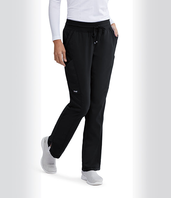 Grey's Anatomy™Pant 4 Pocket and 2 Cargo with Shaped leg. Classic Fabric.