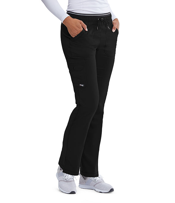 Grey's Anatomy™ Ladies Pant 6 Pocket. Stretch.