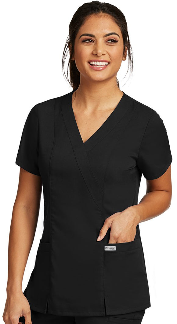 Grey's Anatomy™ Top 2 Pocket Eastic Back