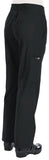 Koi ultra comfortable yoga-style knit-waist cargo pants. Tall