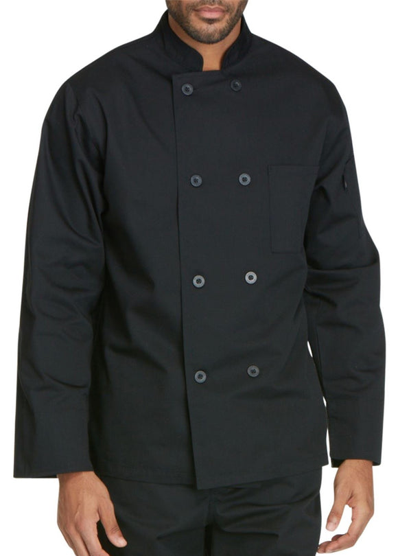 Chef Coat Double Breasted, with buttons, Spoon pocket on Shoulder