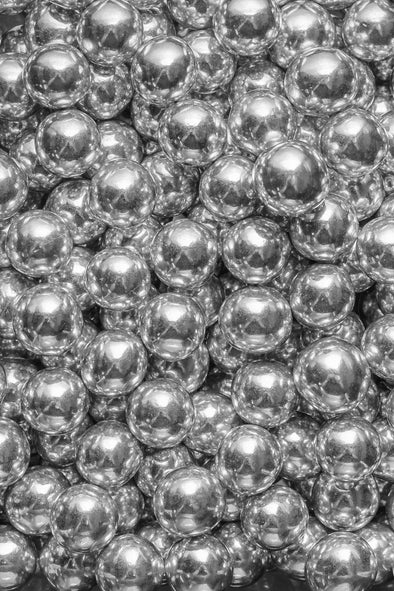 Chocolate Balls - Silver - (X-Large/20mm) Sprinkles Sprinkly 30g Sample Packet