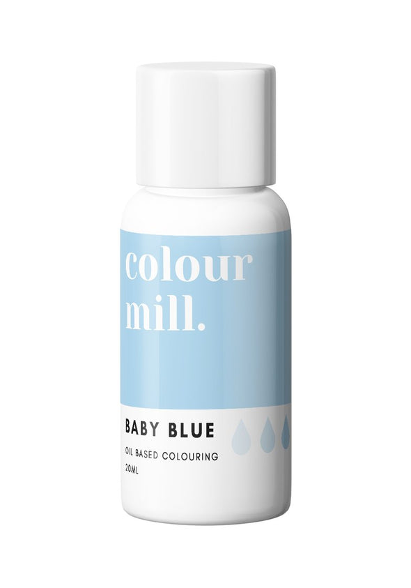 Colour Mill - Oil Based Food Colouring - 20ml Food Colouring Colour Mill Baby Blue