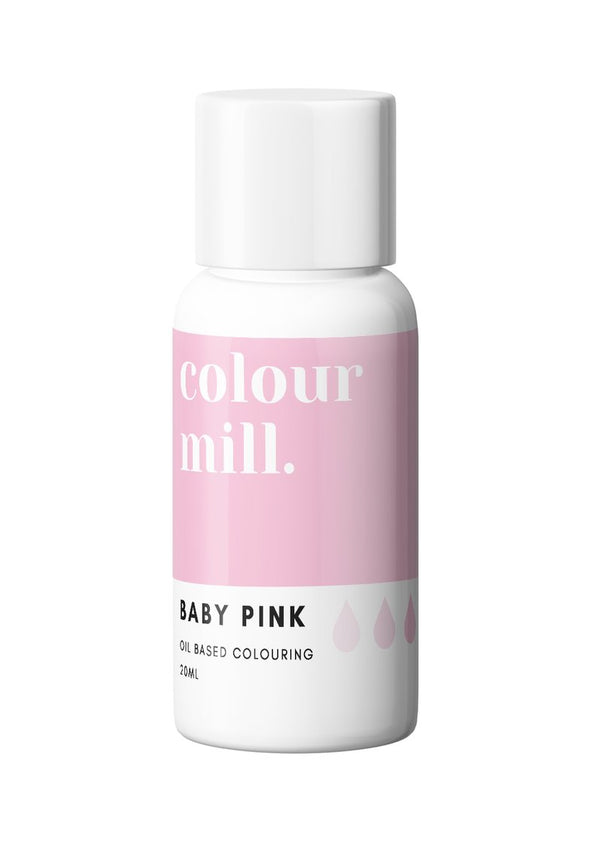 Colour Mill - Oil Based Food Colouring - 20ml Food Colouring Colour Mill Baby Pink