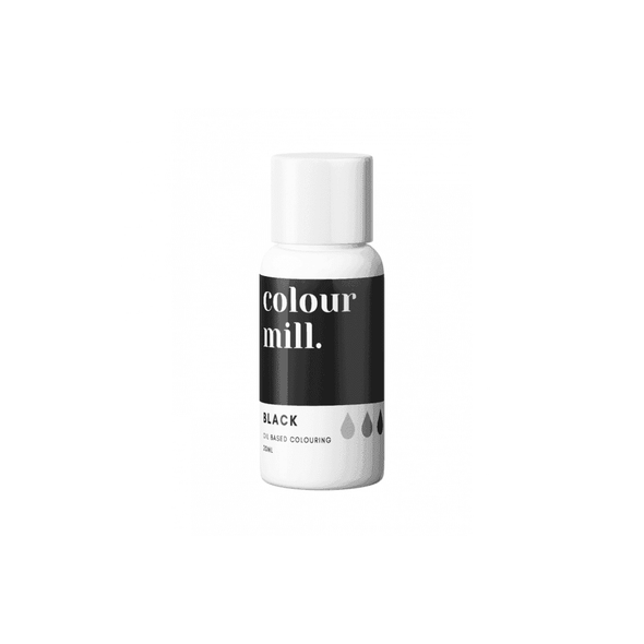 Colour Mill - Oil Based Food Colouring - 20ml Food Colouring Colour Mill Black