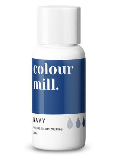 Colour Mill - Oil Based Food Colouring - 20ml Food Colouring Colour Mill Navy