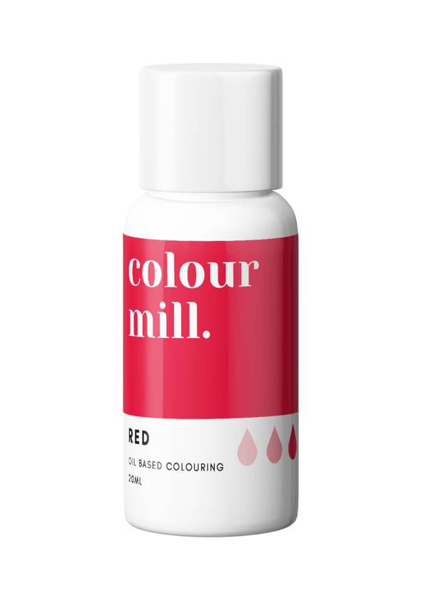Colour Mill - Oil Based Food Colouring - 20ml Food Colouring Colour Mill Red