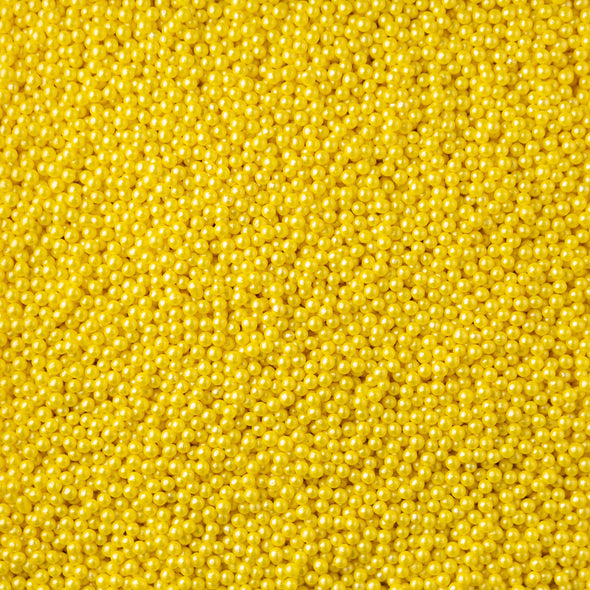 Glimmer Pearls - Yellow Sprinkles Sprinkly