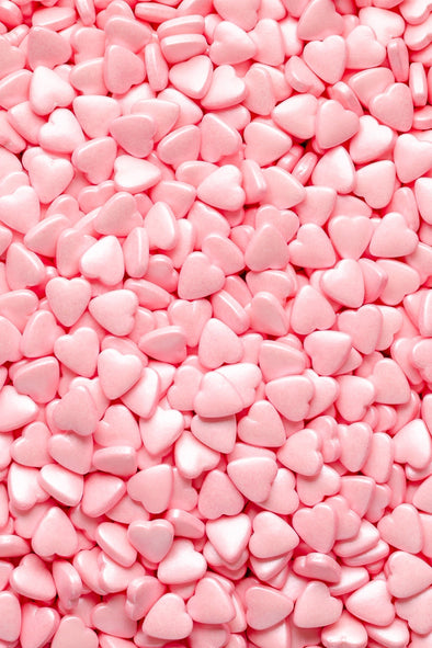 Hearts - Pink Tablet Sprinkles Sprinkly
