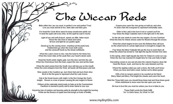 What is the Wiccan Rede?