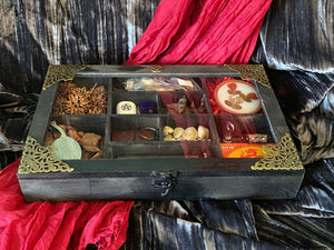 Witch's Apothecary Compartment Box