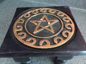 Pentagram Small Altar Table