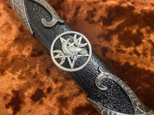 Load image into Gallery viewer, Athame / Dagger - Black Glass